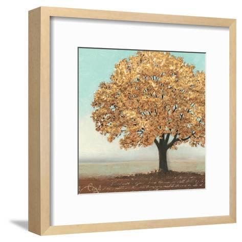 Gold Reflections I-James Wiens-Framed Art Print