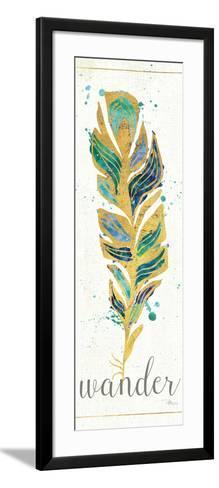 Waterfeathers II-Jess Aiken-Framed Art Print