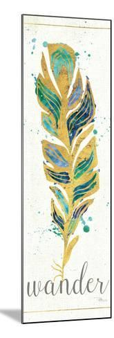 Waterfeathers II-Jess Aiken-Mounted Art Print