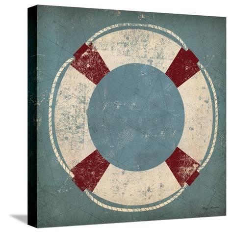 Nautical Buoy Blue-Ryan Fowler-Stretched Canvas Print