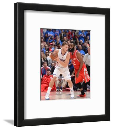 Houston Rockets v Los Angeles Clippers - Game Six-Andrew D Bernstein-Framed Art Print