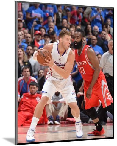 Houston Rockets v Los Angeles Clippers - Game Six-Andrew D Bernstein-Mounted Photo
