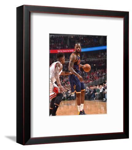 Chicago Bulls V Cleveland Cavaliers - Game Six-Jesse D Garrabrant-Framed Art Print