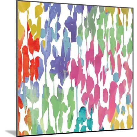 Splashes of Color II-Hugo Wild-Mounted Premium Giclee Print
