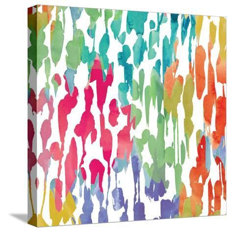 Splashes of Color III-Hugo Wild-Stretched Canvas Print
