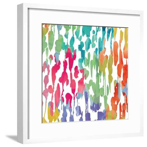 Splashes of Color III-Hugo Wild-Framed Art Print