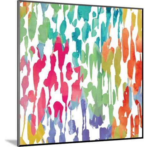 Splashes of Color III-Hugo Wild-Mounted Premium Giclee Print