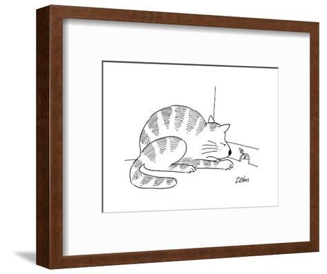 Cartoon-Bob Zahn-Framed Art Print