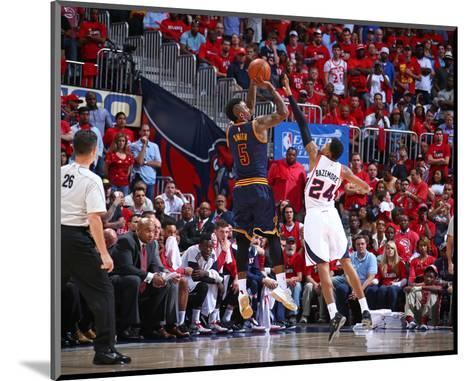 Cleveland Cavaliers v Atlanta Hawks- Game One-Nathaniel S Butler-Mounted Photo