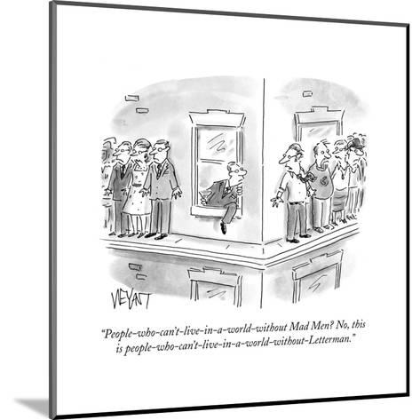 Cartoon-Christopher Weyant-Mounted Premium Giclee Print