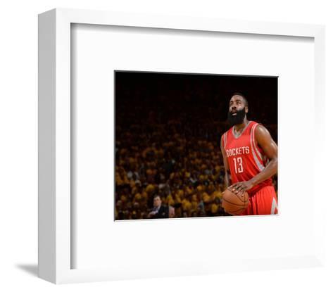 Houston Rockets v Golden State Warriors - Game Five-Noah Graham-Framed Art Print