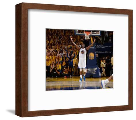 Houston Rockets v Golden State Warriors - Game Five-Andrew D Bernstein-Framed Art Print