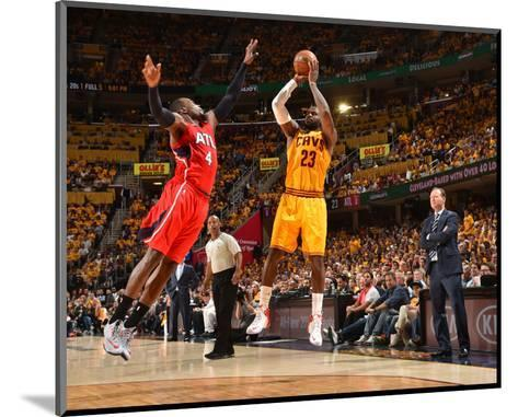 Cleveland Cavaliers V Atlanta Hawks - Game Four-Jesse D Garrabrant-Mounted Photo