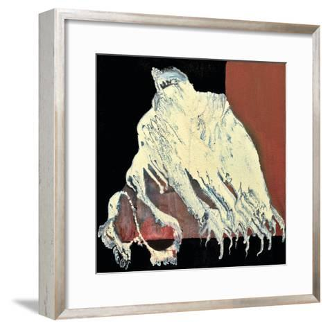 Ghost in Chains, 2011-Carolyn Mary Kleefeld-Framed Art Print
