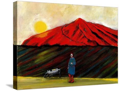 I Brought My Pig Home, 2004-Gigi Sudbury-Stretched Canvas Print