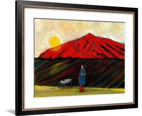 I Brought My Pig Home, 2004-Gigi Sudbury-Framed Art Print