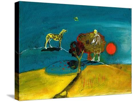 Still Blue Moment, 2004-Gigi Sudbury-Stretched Canvas Print