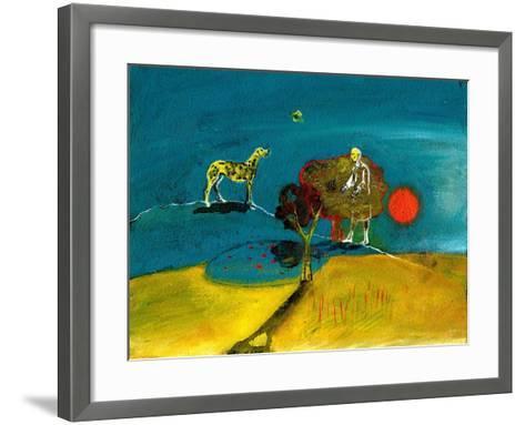 Still Blue Moment, 2004-Gigi Sudbury-Framed Art Print