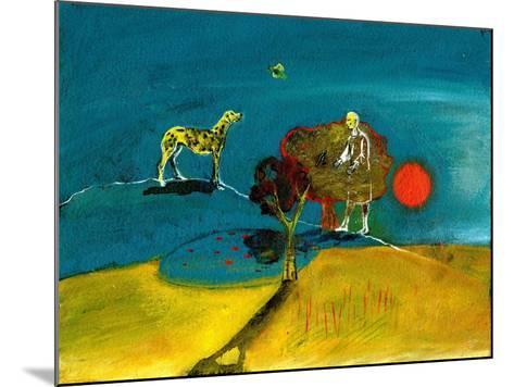 Still Blue Moment, 2004-Gigi Sudbury-Mounted Giclee Print