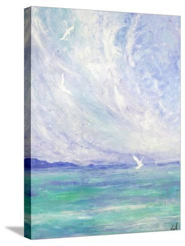 Aerial Ballet-Margaret Coxall-Stretched Canvas Print