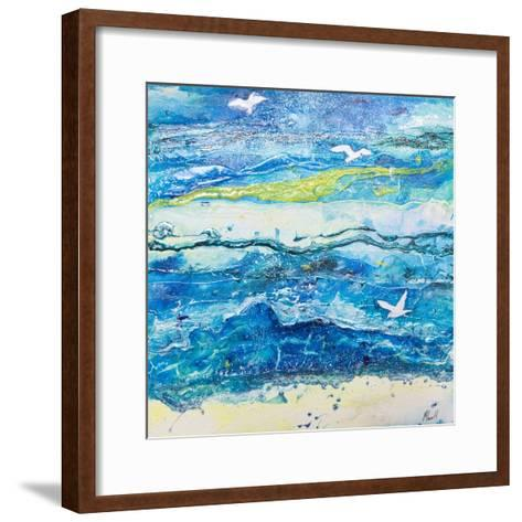Dancing with the Waves-Margaret Coxall-Framed Art Print