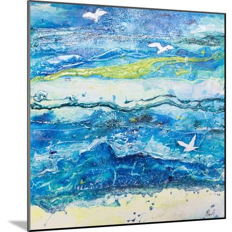 Dancing with the Waves-Margaret Coxall-Mounted Giclee Print