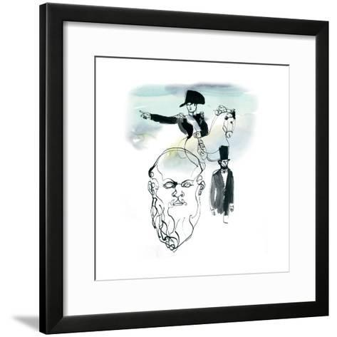 Melancholia, 2013-Toril Bækmark-Framed Art Print
