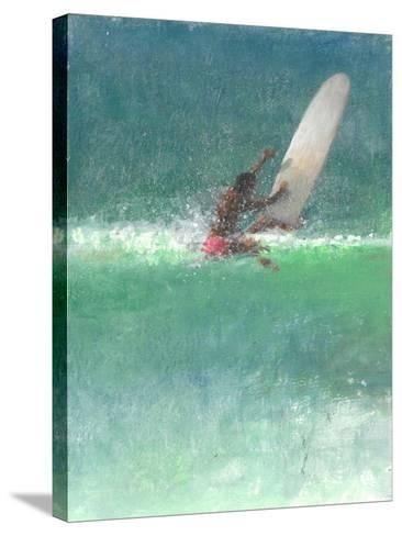 Surfing 1, Sri Lanka, 2015-Lincoln Seligman-Stretched Canvas Print