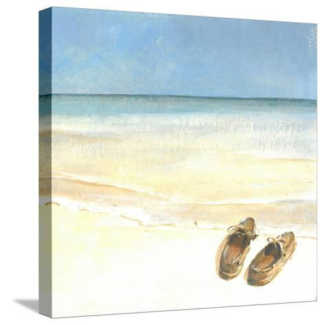 Beach Shoes, 2015-Lincoln Seligman-Stretched Canvas Print