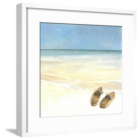 Beach Shoes, 2015-Lincoln Seligman-Framed Art Print