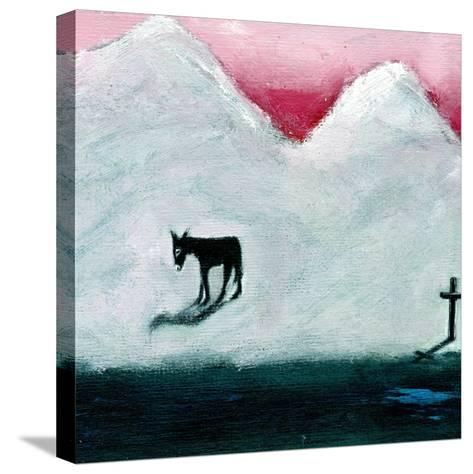 Donkey and Cross, 2003-Gigi Sudbury-Stretched Canvas Print