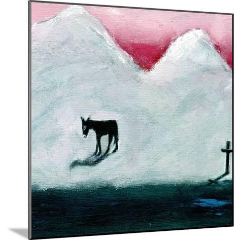 Donkey and Cross, 2003-Gigi Sudbury-Mounted Giclee Print