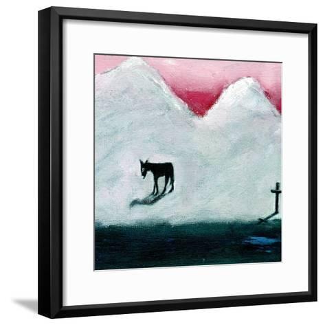 Donkey and Cross, 2003-Gigi Sudbury-Framed Art Print