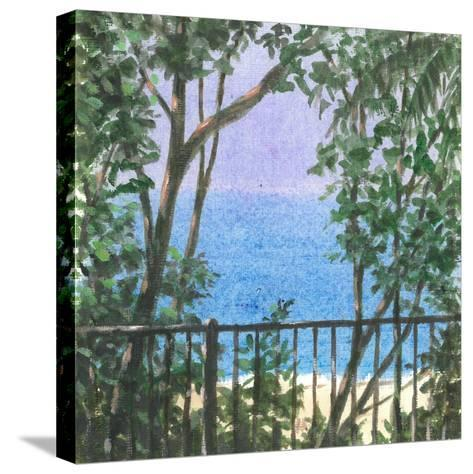 Balcony View, 2015-Lincoln Seligman-Stretched Canvas Print