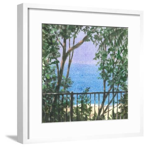 Balcony View, 2015-Lincoln Seligman-Framed Art Print