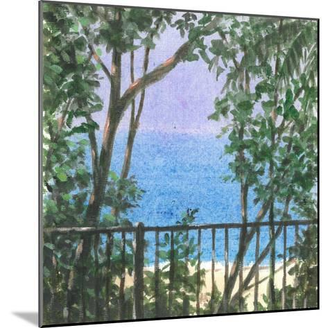 Balcony View, 2015-Lincoln Seligman-Mounted Giclee Print