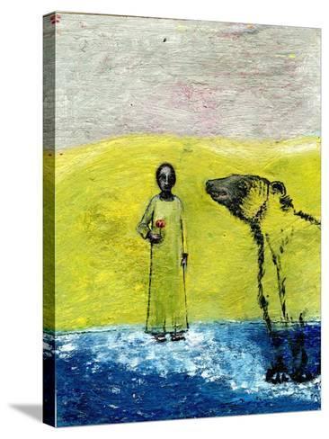 Sweet Rose and Brown Bear, 2005-Gigi Sudbury-Stretched Canvas Print