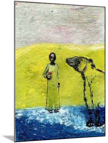 Sweet Rose and Brown Bear, 2005-Gigi Sudbury-Mounted Giclee Print
