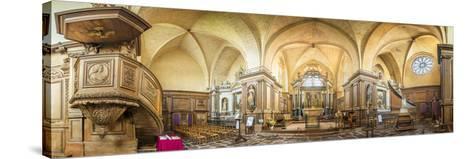 Abbaye de Paimpont-Philippe Manguin-Stretched Canvas Print