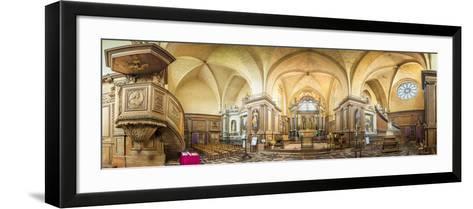 Abbaye de Paimpont-Philippe Manguin-Framed Art Print