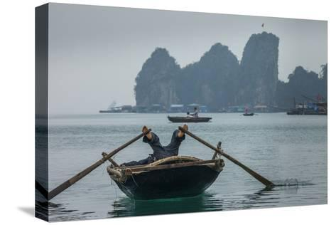 Ha Long Bay, Vietnam-Art Wolfe-Stretched Canvas Print