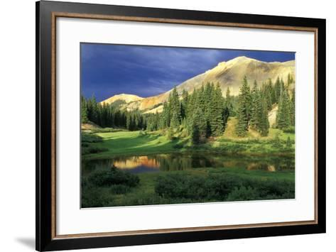 USA, Colorado. Red Mountain at Sunset-Jaynes Gallery-Framed Art Print