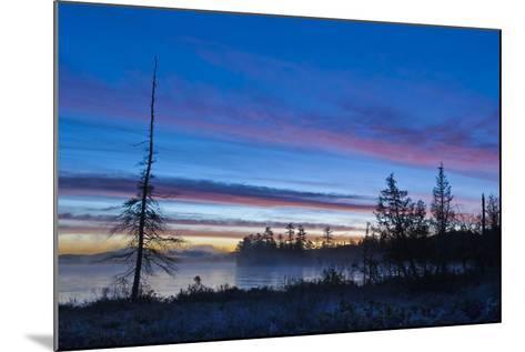 USA, New York, Adirondack Mountains. Raquette Lake at Sunrise-Jaynes Gallery-Mounted Photographic Print