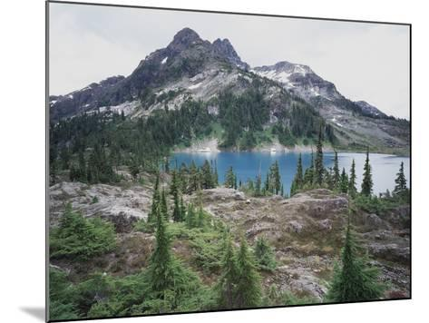 Vancouver Island, Strathcona Provincial Park, Glacier Feed Cream Lake-Christopher Talbot Frank-Mounted Photographic Print