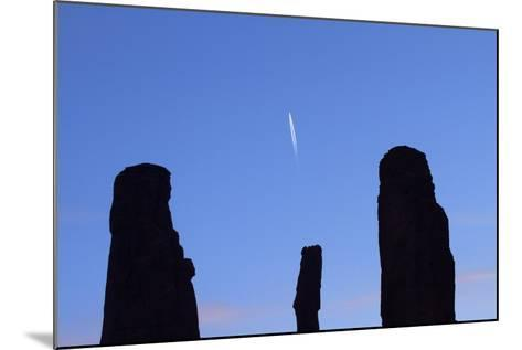 Navajo Nation, Monument Valley, the Three Sisters Spires-David Wall-Mounted Photographic Print
