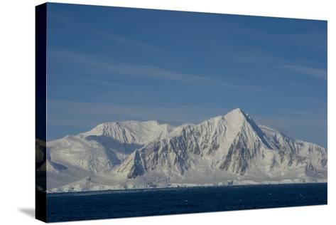South of the Antarctic Circle, Near Adelaide Island-Inger Hogstrom-Stretched Canvas Print
