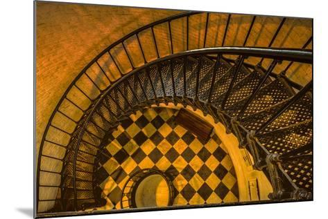 Spiral Staircase of St. Augustine Lighthouse, St. Augustine, Florida-Rona Schwarz-Mounted Photographic Print