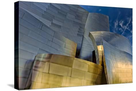 Los Angeles, California. the Disney Concert Hall Exterior-Rona Schwarz-Stretched Canvas Print