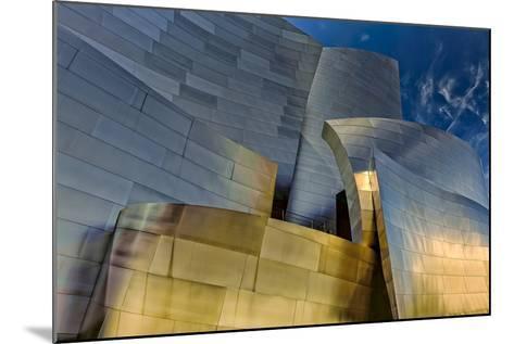 Los Angeles, California. the Disney Concert Hall Exterior-Rona Schwarz-Mounted Photographic Print