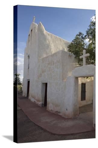 New Mexico, Laguna Mission. Mission San Jose De La Laguna-Luc Novovitch-Stretched Canvas Print